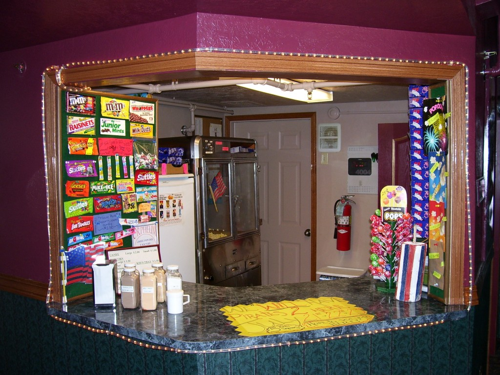 Theatre Concession Booth