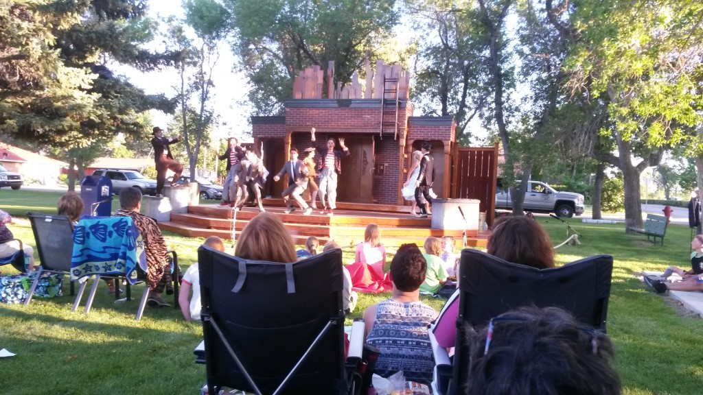 Shakespeare in the Park 2016 Comedy of Errors